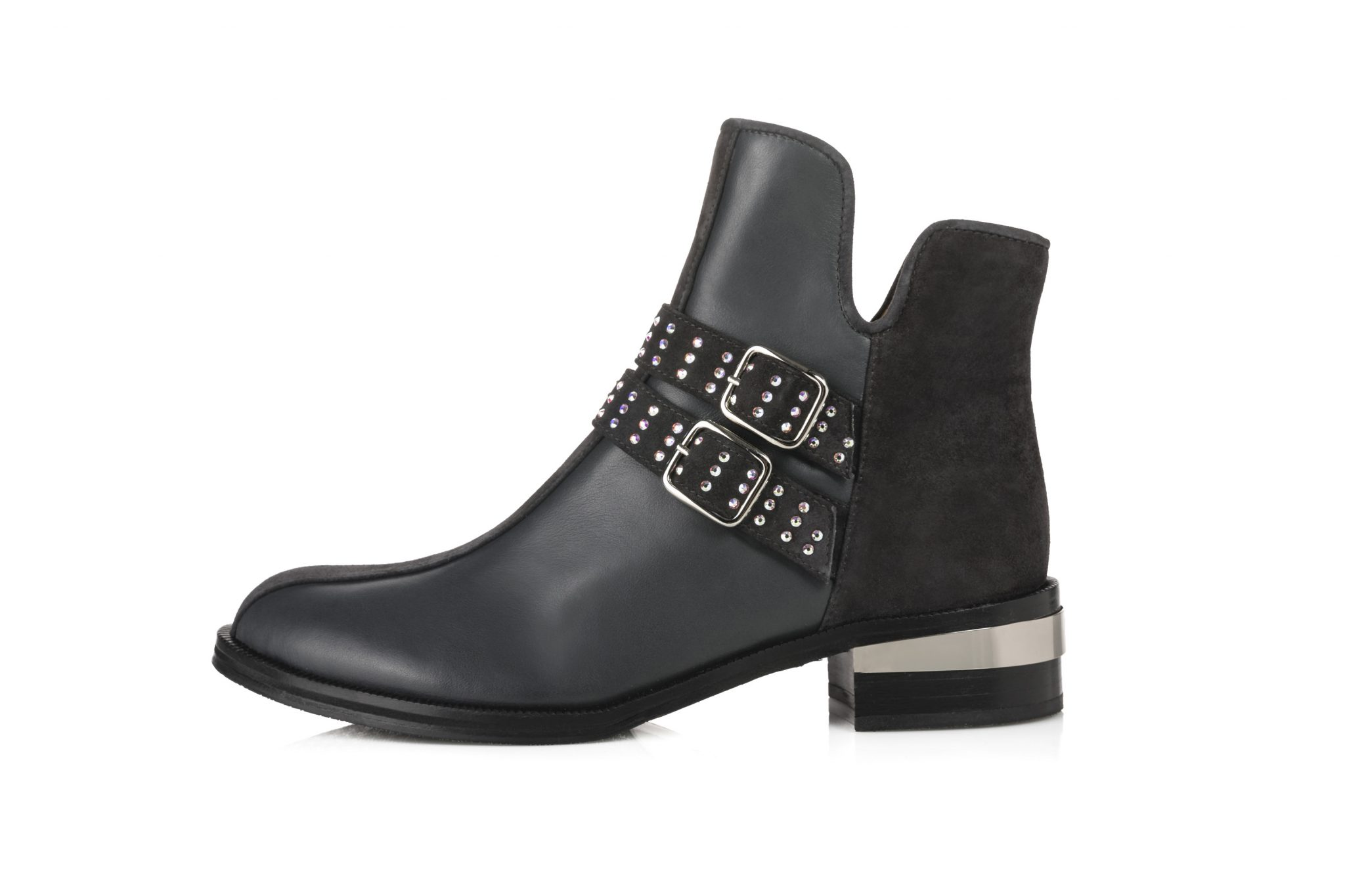 Leather Ankle Boots – Kate