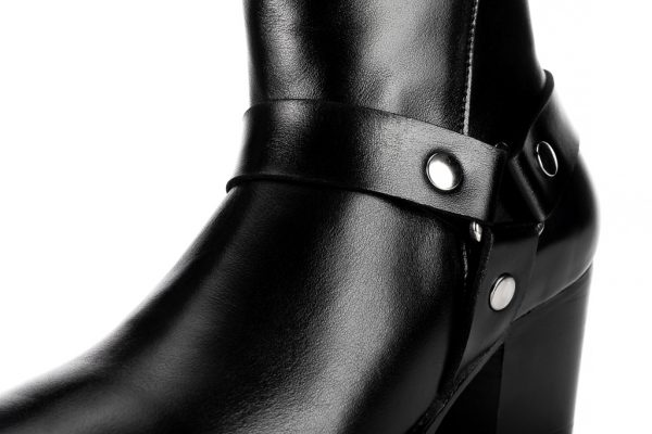 Portuguese handmade leather ankle boots made in Portugal