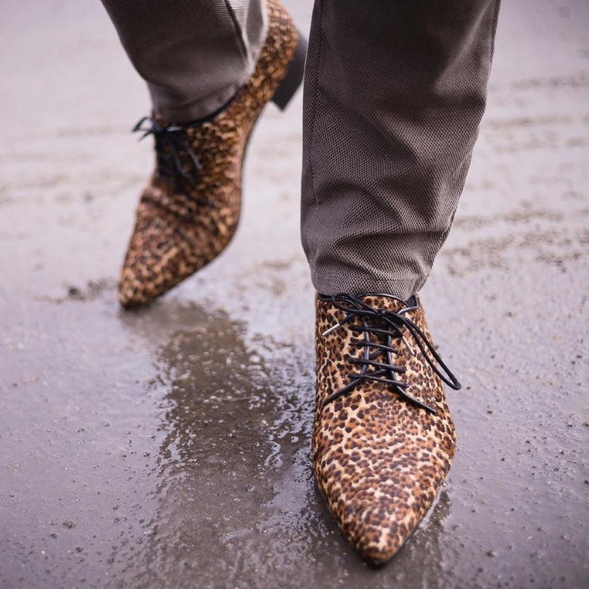 Sapatos de couro de luxo portugueses para homens com atitude