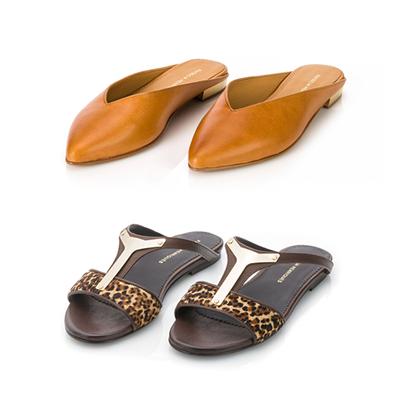 Sugestões de looks para as sandálias de luxo Desert Sand e Gold Shield